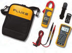 Fluke 117, 115 and 113 True-RMS Digital Multimeters Fluke 117 Electrician s Multimeter with Non-Contact Voltage The Fluke 117 is for electricians working in commercial and non-commercial premises