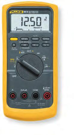 Fluke 88V Automotive Multimeter Fluke 88V Specifications The right meter for auto-electric diagnosis The Fluke 88V Automotive Multimeter is the most powerful automotive multimeter ever offered by