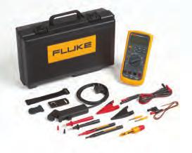 001 ma Resistance Maximum Resistance: 50 MΩ Accuracy: Fluke 88 V: ± (0.4 % + 1) Best Resolution: 0.1 Ω Capacitance Maximum Capacitance: 9,999 µf Accuracy: ± (1 % + 2) Best Resolution: 0.