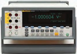 Fluke 8846A, 8845A and 8808A Precision Bench Multimeters True RMS 8808A 8845A 8846A Display Dual Dual, graphical Resolution (digits) 5.5 6.