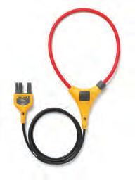 Additionally, the 376 FC, 375 FC and 374 FC are a part of the Fluke Connect family of wireless test tools and are compatible with the iflex Flexible Current Probe (included with the 376 FC, sold