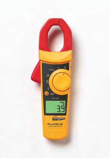 Fluke 902 True-RMS HVAC Clamp Meter Just for our HVAC pros HVAC (heating, ventilation, air conditioning) technicians require a service tool that can consistently keep up with their demands.