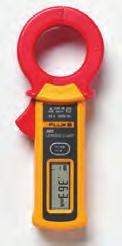 measurements on the display Meter controls are positioned so current measurements can be done with one hand (index finger on clamp opening lever and thumb on rotary switch) Three-year warranty