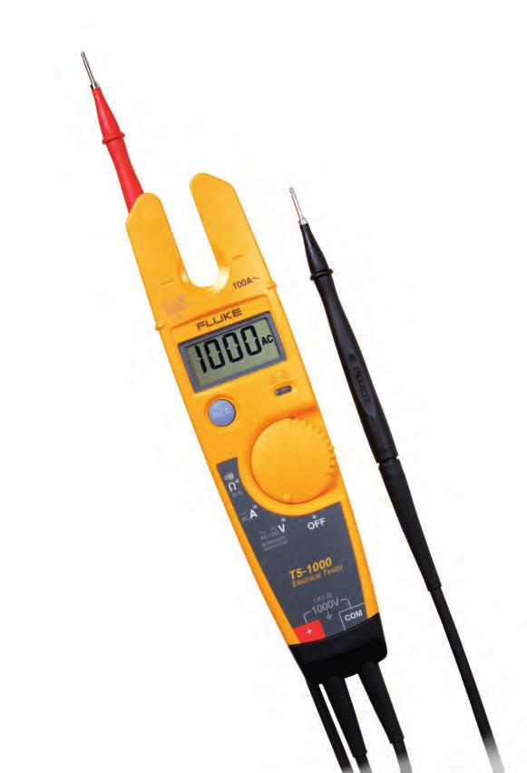 Excellent front-line troubleshooting and measurement tool Available in 600 V and 1000 V models Digital display