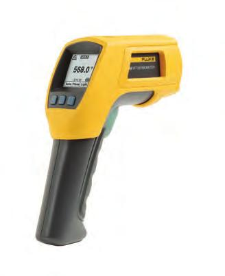 Fluke 560 Series Infrared Thermometers Fluke 568 Fluke 561 Fluke 561, 566 and 568 Infrared and Contact Thermometers With a straight-forward