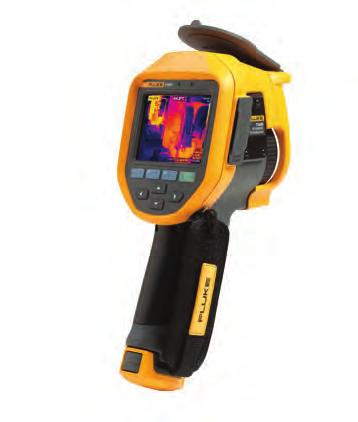 Fluke Professional Series Infrared Cameras Ti450, Ti400 and Ti300 This trio of Fluke Infrared Cameras are equipped with LaserSharp