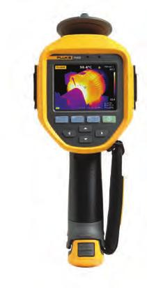 Fluke Ti450 Infrared Camera Capture clear images focused throughout the field of view with MultiSharp Focus Get an instant in-focus