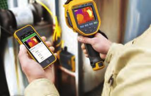 WORK MORE COLLABORATIVELY With the Fluke Connect app and enabled tools, you can collaborate with others no matter where they are.