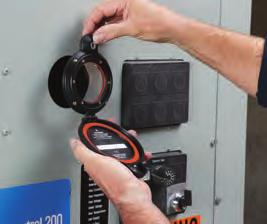 punch - Panel door does not need to be removed - Grounds instantly to metal enclosure with patentpending AutoGround process - Maintains panel arc test ratings up to 63kA when properly installed