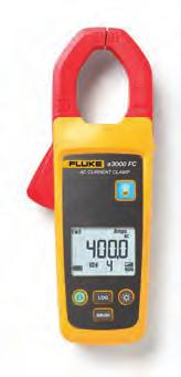 Fluke a3000 FC, a3001 FC, a3002 FC Wireless Current Clamp and Modules Fluke a3000 FC a3000 FC Wireless AC Current Clamp Module A True RMS Current Clamp Meter that wirelessly relays measurements to