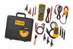 Fluke 1587 FC and 1577 Insulation Multimeters Fluke 1587 FC True RMS Fluke 1577 Two powerful tools in one The Fluke 1587 FC and 1577 Insulation Multimeters combine a digital 1 kv insulation tester