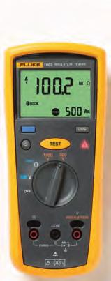 Fluke 1507 and 1503 Insulation Resistance Testers Fluke 1507 These lightweight, affordable insulation testers are perfect for troubleshooting, commissioning and preventive maintenance applications.