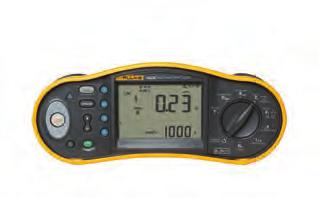 Fluke 1650 Series Multifunction Installation Testers Fluke 1654B Fluke 1653B Fluke 1652C Extra functionality, faster testing, and as rugged as ever The Fluke 1650 Series builds on the rugged