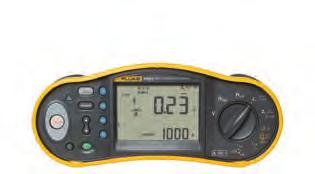 With features like the fast, high current loop test (including a non-trip test) and a variable RCD trip current setting, accuracy is even better and the test cycle even faster.