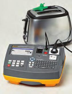 Recommended Accessories SP-SCAN-6000 Barcode Scanner (6500-2 only) C1600 Rugged, molded plastic case See page 145 DMS COMPL Data Management Software Fluke 6500-2 Application Portable Appliance