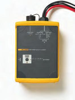 Fluke 1740 Series Three-Phase Power Quality Loggers Memobox Fluke 1743 Fluke 1745 Fluke 1744 Selection Guide Compact and rugged, the Fluke 1740 Series Three-phase Power Quality Loggers are everyday