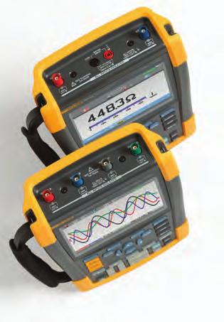 Fluke ScopeMeter Portable Oscilloscopes 190 Series II The toughest Portable Scopes ever built With four electrically isolated channels, up to a 2.