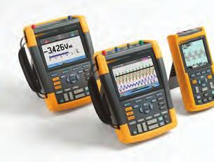 Rated all the way to CAT IV ScopeMeter test tools are rugged solutions built for industrial troubleshooting.