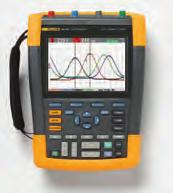 Fluke ScopeMeter Portable Oscilloscopes 190 Series II Fluke 190-504 Fluke 190-202 Fluke 190-204 Fluke 190 Series II ScopeMeter Portable Oscilloscopes are the first high-performance scopes built for