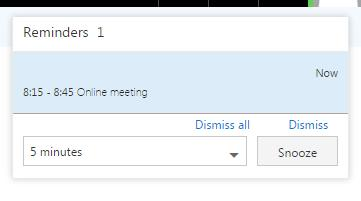 Arranging an Online Meeting To schedule an online meeting, click on Calendar then double click on the preferred meeting date Populate the relevant fields for the meeting and use the Scheduling