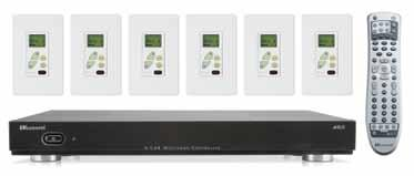 A-BUS Systems Amplified Volume Control Systems A-C68 6 W x