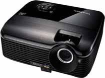 PROJECTOR 3D DLP LINK READY Brightness 200 Lumens Contrast Ratio 2000:1, 3000:1 (Dynamic) Resolution SVGA 800 600 (Native)/SXGA 1280 24