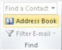 Using Address Books & Email Groups Level 1/Guide D, p.1 This guide provided an overview of using Outlook Address Books and creating email distribution groups.