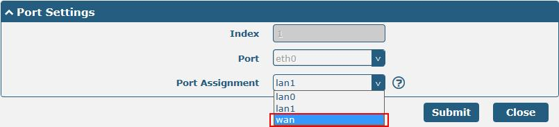 Configure Multiple IP Click Interface > LAN > Multiple IP, and click the edit
