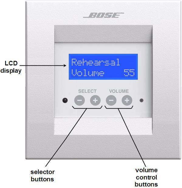 CC-16 Zone Controller The CC-16 Zone Controller is a wall-mountable control panel.
