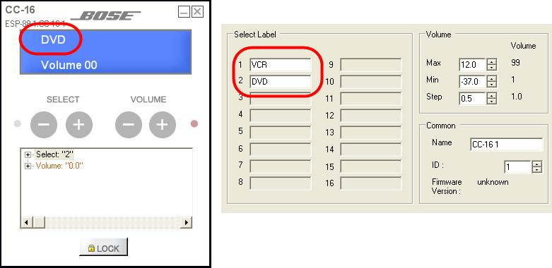 After programming the Select buttons, you can change the text that is displayed on the LCD screen by