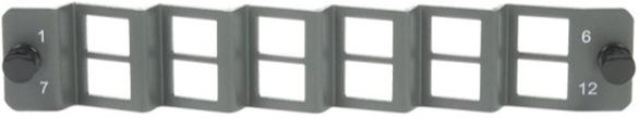 Rack/Wall Mount Adaptor Plates OCC s rack mount enclosures support a wide variety of adaptor panel configurations