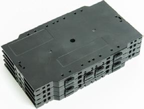Supports a wide range of splice trays.