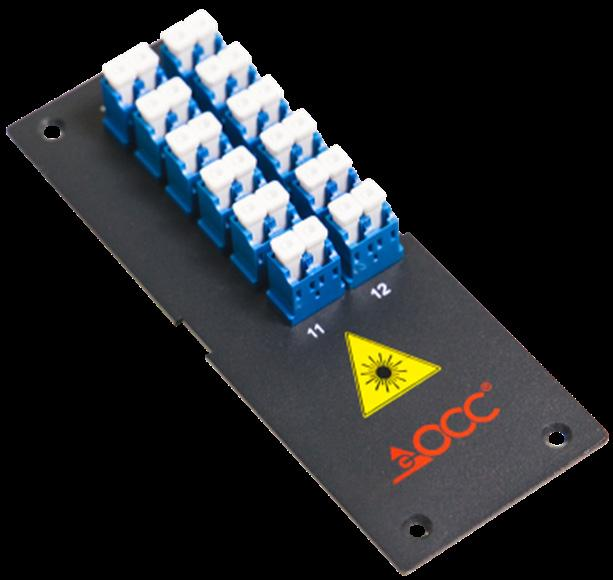 : Compact size for limited space requirements A12DS DIN MOUNT FIBER SPLICE TRAY 6/12