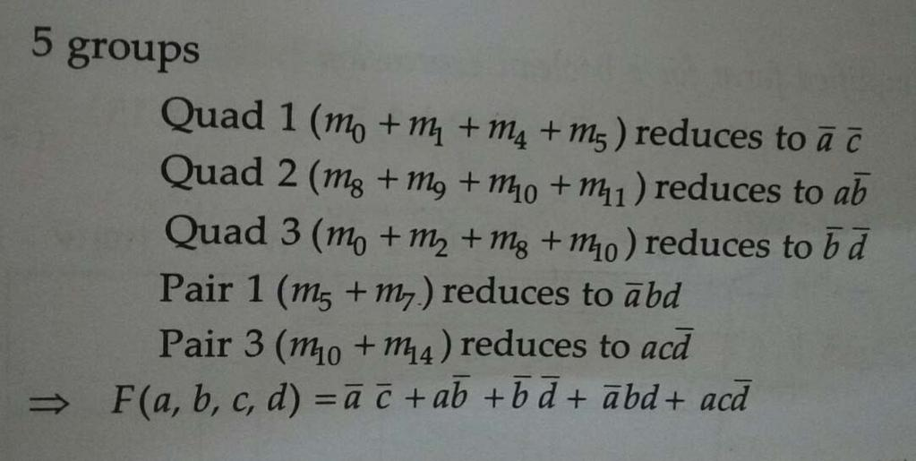 2) ) Reduce the following Boolean