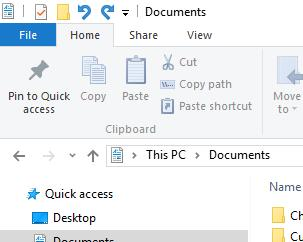 Open the folder to make sure your document has been moved successfully. Double click the folder icon to see if your document is in that folder. Oops! I made a mistake. What do I do?
