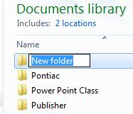 Renaming Files To change a file s name (but not its contents) right click on the file and select Rename.