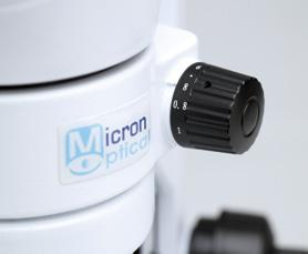The high-quality optics give your samples a crystal-clear image, while the low-profile LED base makes moving your subject around a comfortable experience.