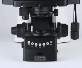 Micron BM4/ID4 Affordable motorization research microscope Introducing our NEW BM4/ID4 motorized microscope!