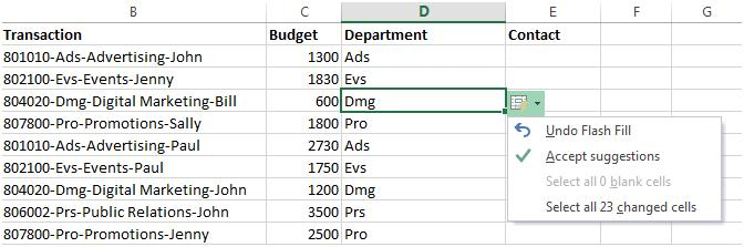 Excel 2013 gives you these options right next to the chart. Just click the Chart Elements, Chart Styles, or Chart Filters buttons to fine-tune your chart.