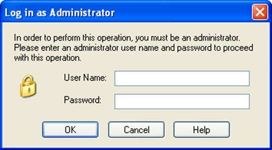 Type in User name and passwrd Standard user name &