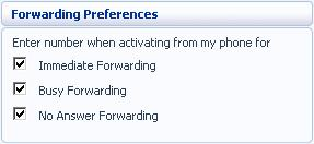 To change whether you need to enter a number when enabling Call Forwarding from your handset, follow these steps: 1.