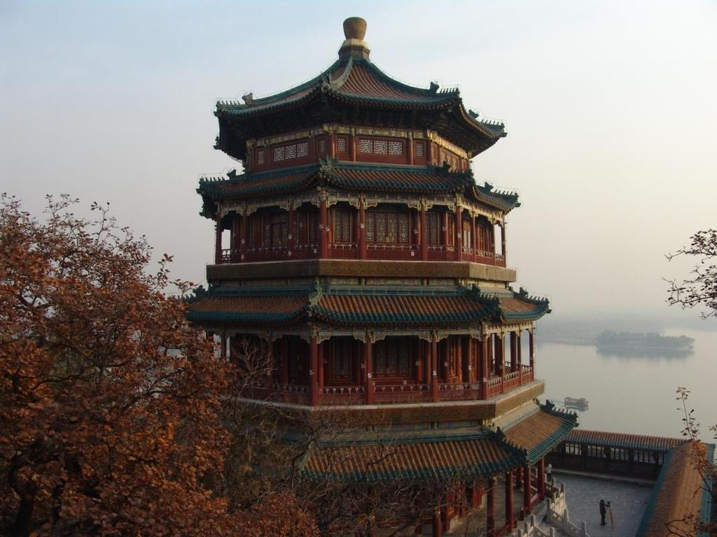 Today, we take the Tower of Buddhist Incense in the Summer Palace as our research subject.