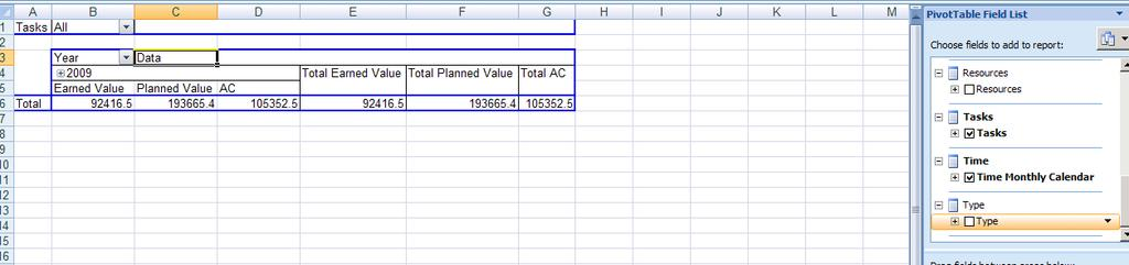 Page 3 of 7 In the PivotTable Field List scroll down the list of fields to