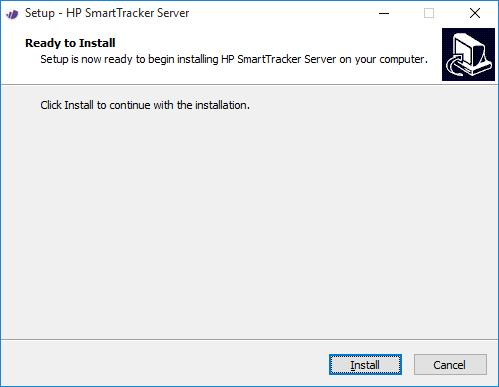 4. Double-click the installer and, as