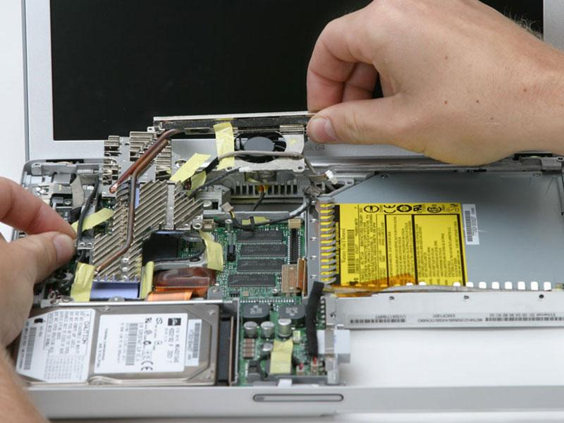 If you need to mount the heat sink back into the laptop, we have a thermal paste guide that makes replacing the thermal compound