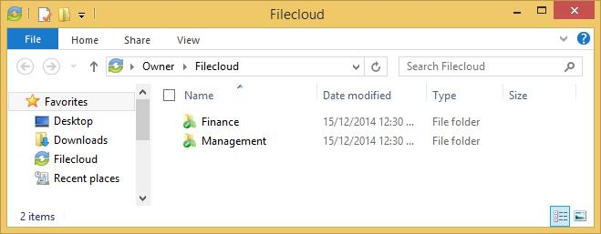 How to Upload Files in Filecloud When files and folders are added to the web portal, they automatically propagate down to your local machine; you can then find these files and folders inside your