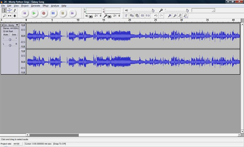 Audacity can read the fllwing audi file frmats: WAV, AIFF, AU, MP3, and Ogg Vrbis. Yu will mst likely encunter WAV and MP3 files.