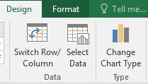 3.2.7 Changing Chart Type Example changing from Column