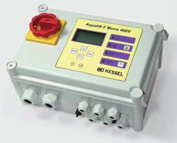 The warning and control units can be used for a wide range of purposes e.g. as warning devices in household and industrial systems as well as for connection to a remote signal sensor.