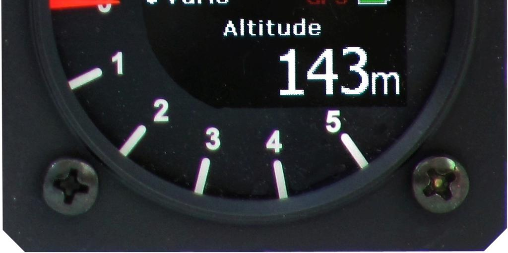 , NETTO, RELATIV VAR LOW NR (lower number indicator in vario mode): Altitude, Distance, Final glide, TAS, VAR UP NR (upper number indicator in vario mode): Average, Time, Flight time, The same